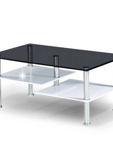 SVEN konferenční stolek, ocel/sklo