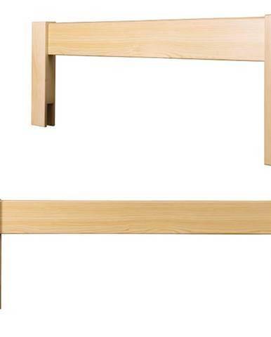 Zábrana k posteli LK149, masiv borovice
