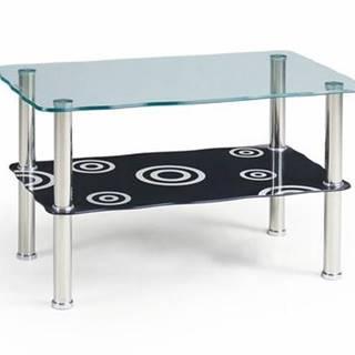 Konferenční stolek HALIA, černý