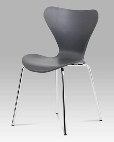 Jídelní židle AURORA GREY, šedá