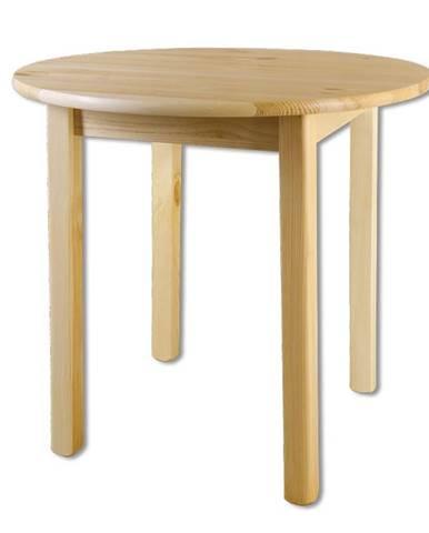 Kulatý jídelní stůl ST105, O120x75, moření: …
