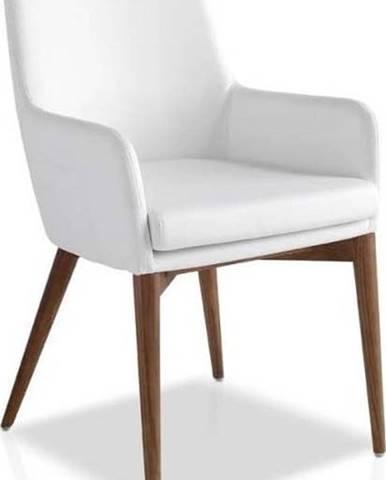 Bílá jídelní židle Ángel Cerdá Yadira
