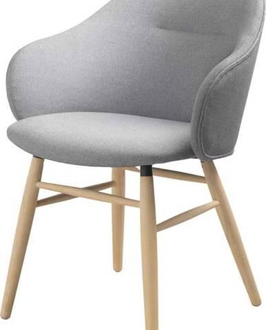 Šedá jídelní židle Unique Furniture Teno Oak