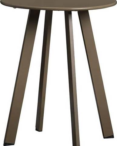 Zelený železný zahradní konferenční stolek WOOOD Fer,ø40cm