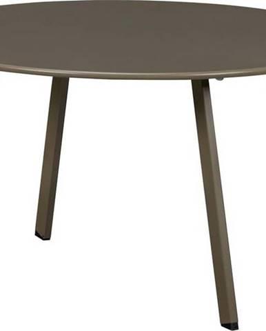 Zelený železný zahradní konferenční stolek WOOOD Fer,ø70cm