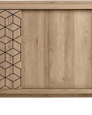 Komoda v dekoru dubového dřeva Marckeric Ceilan