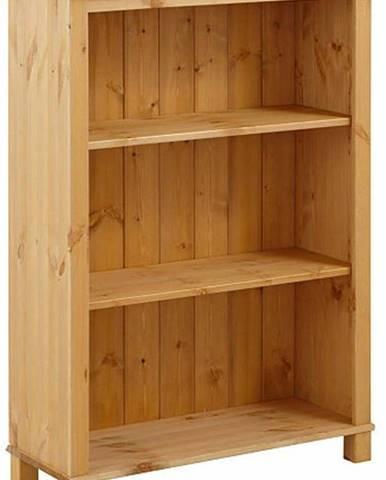 Nízká knihovna z masivního borovicového dřeva Støraa Pinto