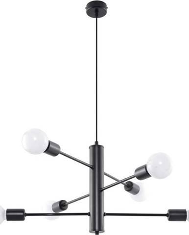 Černé zásvěsné svítidlo Nice Lamps Donato 6