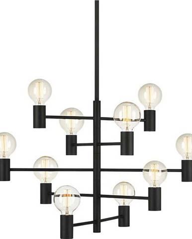 Černé závěsné svítidlo Markslöjd Paris