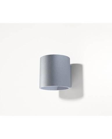 Šedé nástěnné svítidlo Nice Lamps Roda