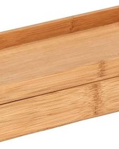 Bambusový úložný box spodnosem Wenko Terra