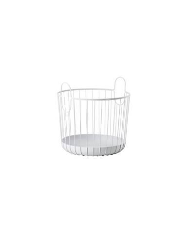 Bílý kovový úložný košík Zone Inu,ø40,6cm