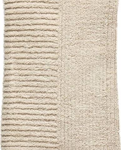 Béžový bavlněný ručník Zone Classic,100x50cm