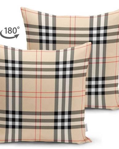 Povlak na polštář Minimalist Cushion Covers Flannel, 45 x 45 cm