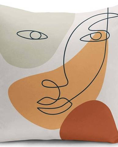 Povlak na polštář Minimalist Cushion Covers Post Modern, 45 x 45 cm