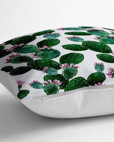 Povlak na polštář s příměsí bavlny Minimalist Cushion Covers Lady Catus,70x70cm