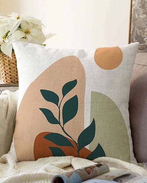 Minimalist Cushion Covers Povlak na polštář s příměsí bavlny Minimalist Cushion Covers Twiggy,55x55cm