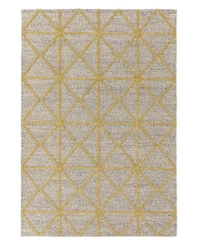 Béžovo-žlutý koberec Asiatic Carpets Prism, 120 x 170 cm