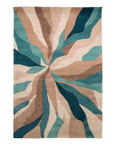 Modrý koberec Flair Rugs Splinter,120 x170cm