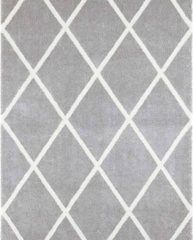 Světle šedý koberec Elle Decoration Maniac Lunel, 160 x 230 cm