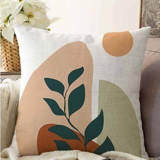 Povlak na polštář s příměsí bavlny Minimalist Cushion Covers Twiggy,55x55cm