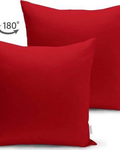 Červený povlak na polštář Minimalist Cushion Covers, 45 x 45 cm