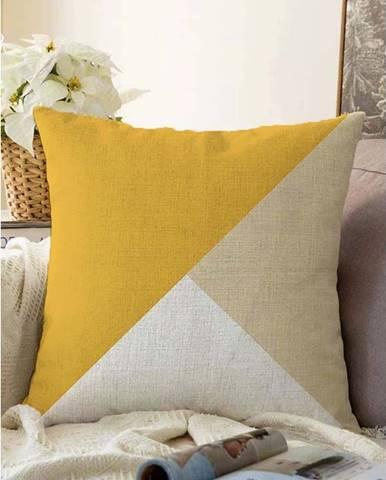 Povlak na polštář s příměsí bavlny Minimalist Cushion Covers Bohochic,55x55cm