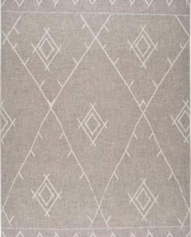 Šedý koberec Universal Lino Line, 140 x 200 cm