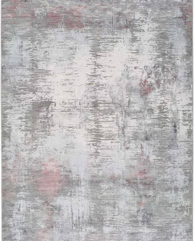 Šedý koberec Universal Riad Silver, 60 x 120 cm