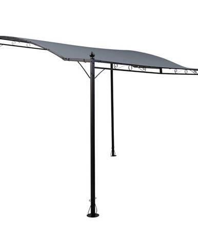 Blumfeldt Allure, pergola, přístřešek, pavilon, 300 x 250 cm, polyester, tmavě šedá