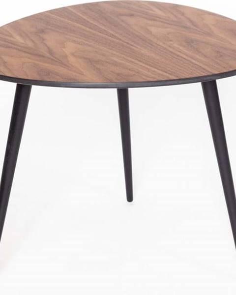 Ragaba Konferenční stolek s černými nohami Ragaba Pawi Pick, 55 x 50 cm