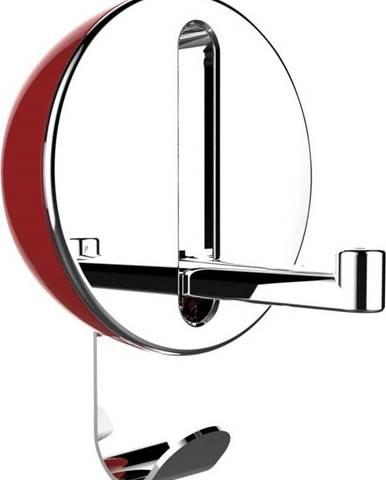Červený dvojitý skládací háček Wenko Premium DELTA