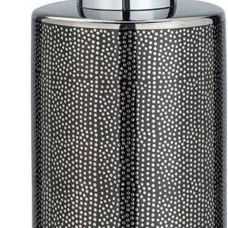 Dávkovač mýdla ve stříbrno-šedé barvě Wenko Nuria