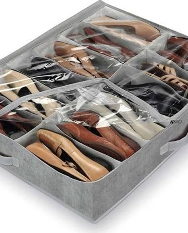 Šedý organizér na 12 párů bot Domopak Shoes