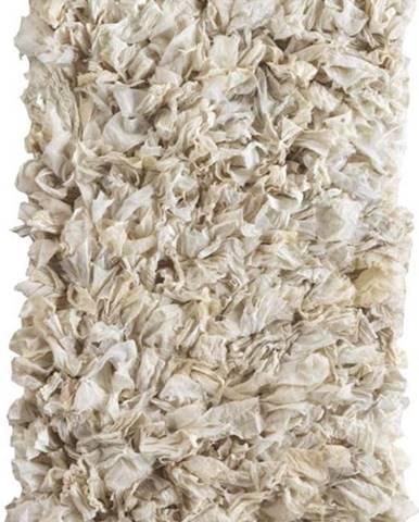 Krémový koberec Geese Fluffy, 120x 60 cm
