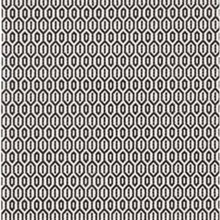 Černo-bílý venkovní koberec Bougari Coin, 80x200cm