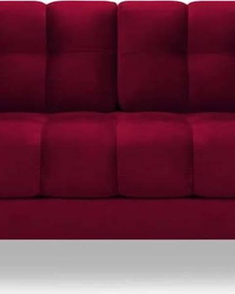 Cosmopolitan design Červená sametová pohovka Cosmopolitan Design Bali