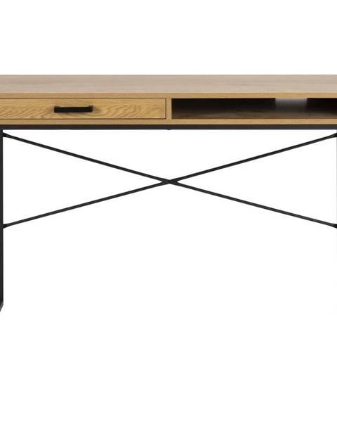 Actona Psací stůl v dekoru divokého dubu Actona, 110 x 45 cm