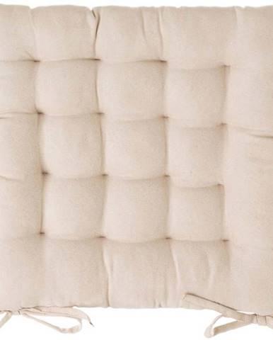 Béžový podsedák na židli Unimasa, 40 x 40 cm