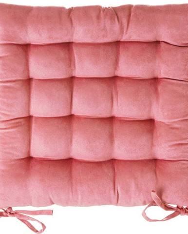 Růžový podsedák na židli Unimasa, 40 x 40 cm
