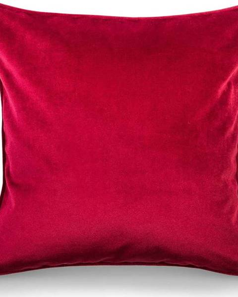 WeLoveBeds Červený povlak na polštář WeLoveBeds Mystic Burgundy, 50 x 50 cm