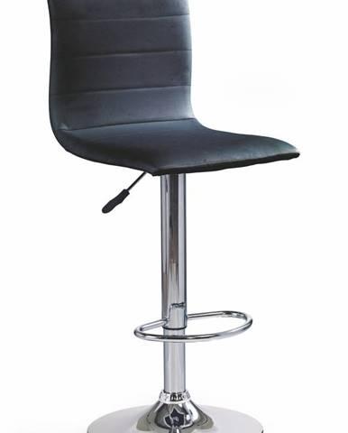 Halmar Barová židle H-21, černá