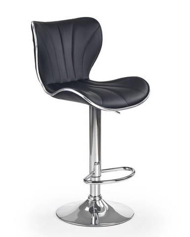 Halmar Barová židle H-69, černá