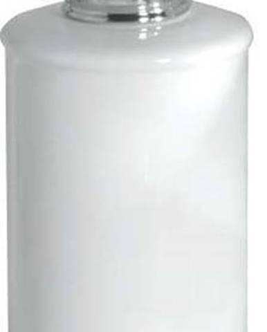 Bílý zásobník na mýdlo s pumpičkou iDesign York
