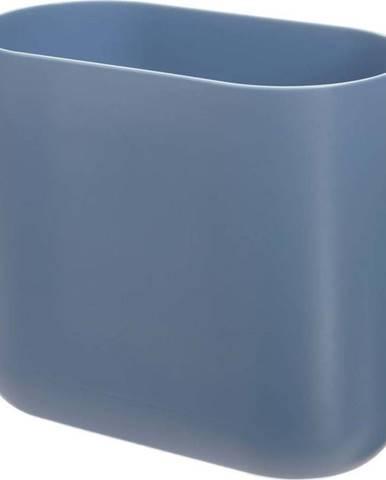 Modrý odpadkový koš iDesign Slim Cade