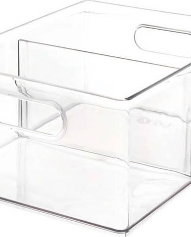 Transparentní úložný box iDesignTheHomeEdit, 34,2x25,3cm