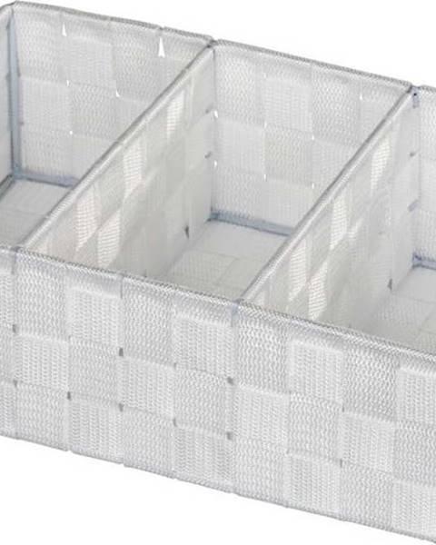 WENKO Bílý koupelnový organizér Wenko Adria Mini Grip