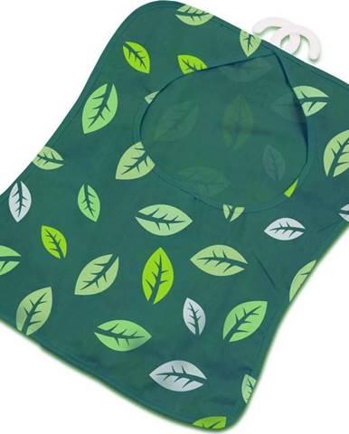Zelená závěsná taštička na kolíčky na prádlo Addis Peg Bag Dark Green Leafes
