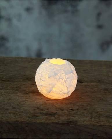 LED svíčka Star Trading Snowta, výška 6,5 cm