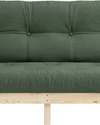 Variabilní pohovka Karup Design Lean Raw Olive Green